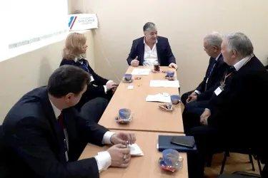 Наблюдатели посетили предвыборный штаб кандидата Николая Дудогло