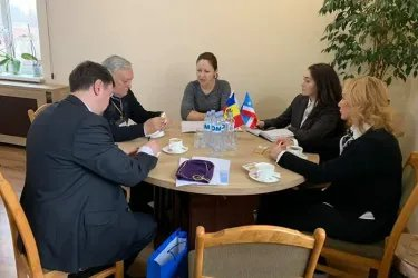 Встреча с заместителем Председателя Исполнительного комитета Гагаузии Олесей Танасогло
