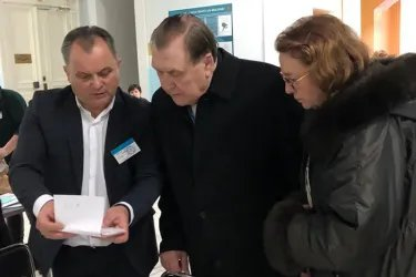 Юрий Мищеряков и Ирина Соколова посетили избирательные участки в Республике Молдова