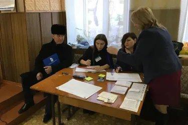 Зуфар Исмоилзода и Ибод Рахимов посетили избирательные участки в Республике Молдова