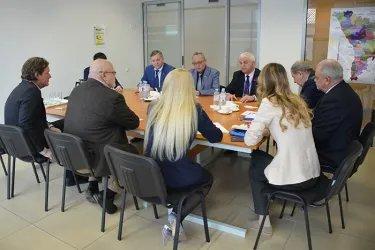 Бектас Абдыханов и Дмитрий Кобицкий приняли участие во встрече с представителями БДИПЧ ОБСЕ