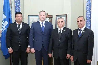 Встреча Дмитрия Кобицкого с Касымгулы Бабаевым
