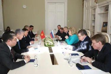 Встреча Валентины Матвиенко с Дастанбеком Джумабековым