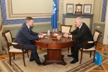 Встреча Дмитрия Кобицкого с Асафом Гаджиевым