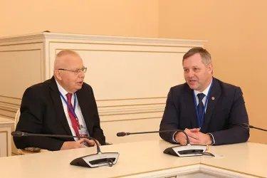 Встреча Дмитрия Кобицкого с Юрием Федотовым
