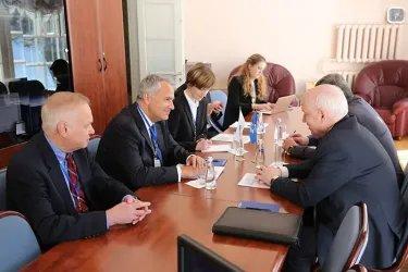Встреча Сергея Лебедева с Макисом Воридисом