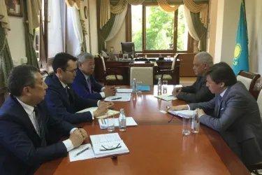 Посещение маслихата города Алматы
