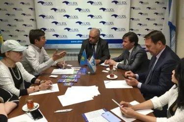 Встреча в штабе кандидата Дании Еспаевой