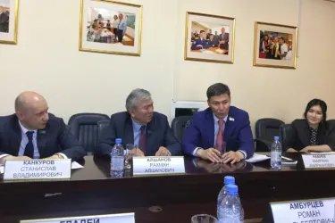 Встреча в штабе партии