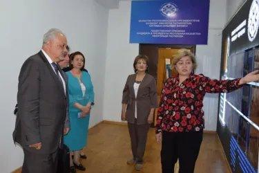 Посещение общественной приемной кандидата Таспиева