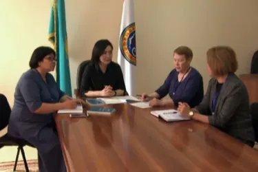 Председатель и члены избирательной комиссии Алматы