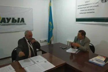 Наблюдатели от МПА СНГ в штабе партии