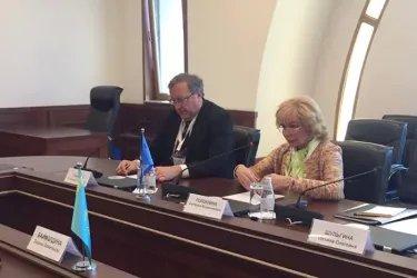 Наблюдатели от МПА СНГ в ЦИК Республики Казахстан