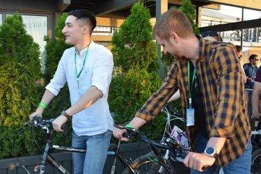Молодые парламентарии приняли участие в экологическом велоквесте