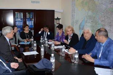 Посещение городской избирательной комиссии города Нур-Султан, 07.06.19