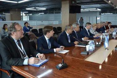 Встреча с кандидатом на пост Президента Республики; Казахстан Данией Еспаевой, 08.06.19
