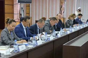 Встреча с представителями штаба РОО Федерация профсоюзов Республики Казахстан, 08.06.19