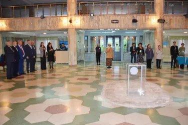 Ильяс Умаханов, Дмитрий Кобицкий и Виктор Бондарев посетили избирательные участки в Республике Казахстан