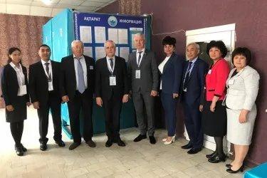 Юрий Дорогокупец и Адхам Шадманов и Сергей Караваев посетили избирательные участки в Республике Казахстан