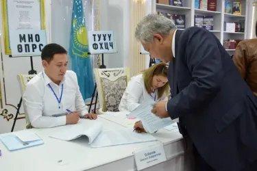 Полномочный представитель Парламента Республики Казахстан Асхат Нускабай проголосовал на выборах Президента Республики Казахстан