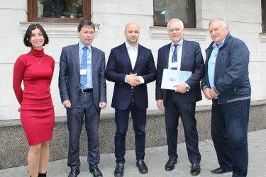 Встреча наблюдателей от МПА СНГ с Владимиром Чеботарем