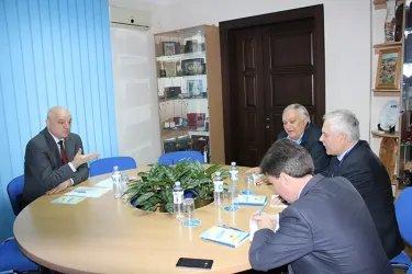 Встреча наблюдателей от МПА СНГ с заместителем председателя ЦИК Республики Молдова Владимиром Шарбаном