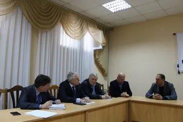 Встреча наблюдателей от МПА СНГ с Ионом Чебаном