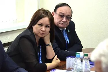 Встреча с Председателем Либерально-демократической партии Олегом Гайдукевичем