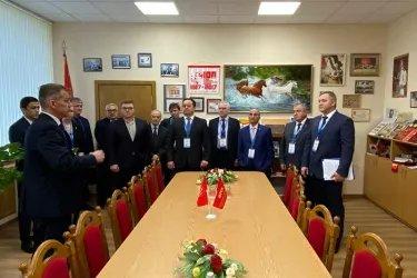 Посещение Центрального комитета Коммунистической партии Беларуси