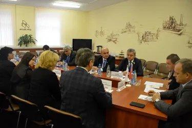 Посещение штаб-квартиры Республиканского общественного объединения «Белая Русь»