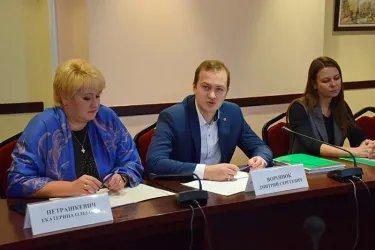 Встреча с руководством Белорусского республиканского союза молодежи