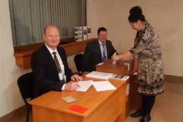 Зарубежный избирательный участок в Кишиневе