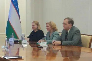 Встреча с Председателем ЦИК Республики Узбекистан