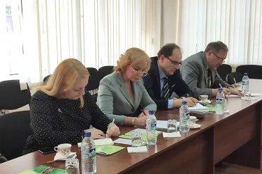 Встреча с руководством Экологической партии Республики Узбекистан