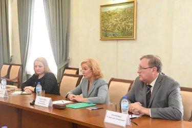 Встреча с первым заместителем Председателя Сената Олий Мажлиса Республики Узбекистан Содиком Сафоевым