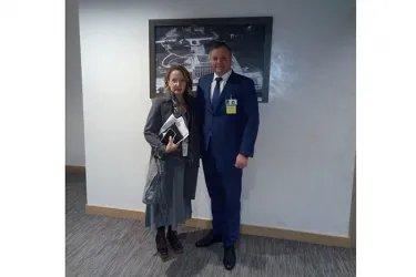 Встреча Дмитрия Кобицкого с заместителем директора Европейского бюро Управления Верховного комиссара ООН по делам беженцев Анджелой Ли Роси