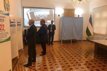 Наблюдение на зарубежном избирательном участке в Баку
