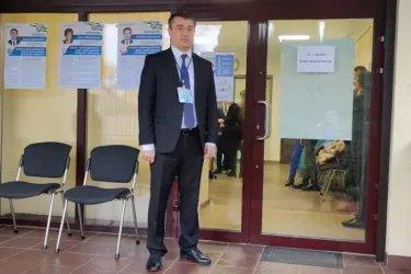 Наблюдение на зарубежном избирательном участке в Минске