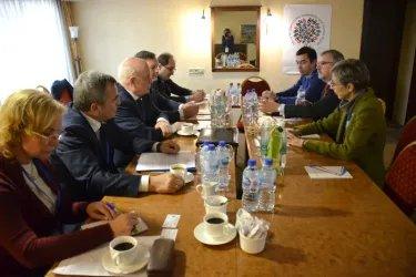 Встреча представителей Миссии СНГ с представителями Миссии БДИПЧ ОБСЕ
