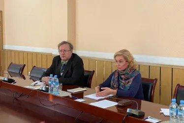 В штабе Демократической партии Таджикистана