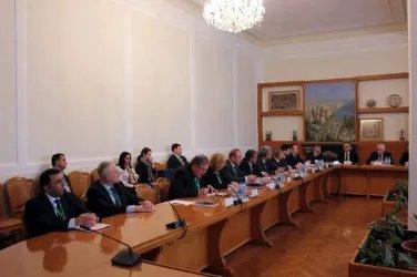 Наблюдатели от МПА СНГ посетили Центральную избирательную комиссию и Конституционный Суд Азербайджанской Республики, 08.02.20