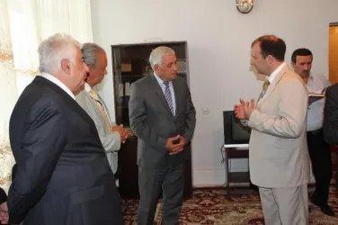 Посещение областной избирательной комиссии Самухского района