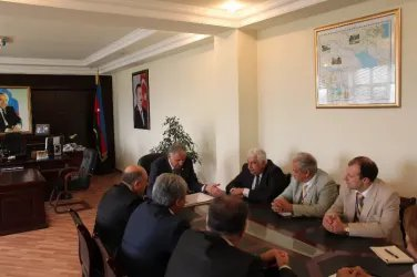 Встреча с главой администрации Самухского района