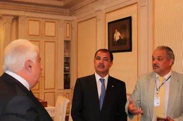 Встреча с главой администрации г. Гянджи