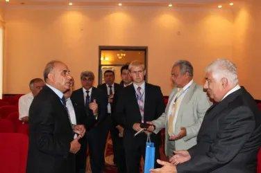 Посещение областной избирательной комиссии (г. Гянджа)