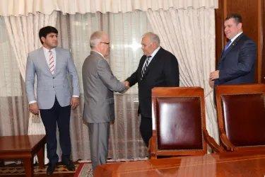 Наблюдатели от МПА СНГ встретились с руководителем Парламента Азербайджана 10 сентября