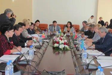 Заседание Постоянной комиссии МПА СНГ по социальной политике и правам человека 3.10.2013