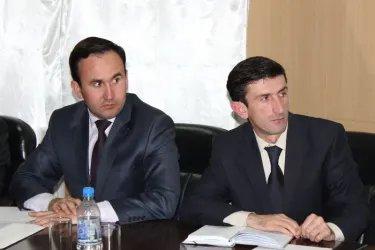 Встреча наблюдателей МПА СНГ с представителем НДПТ 05.11.13