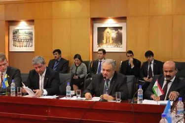 Наблюдатели МПА СНГ на координационном совещании в Душанбе 5.11.13
