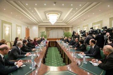 В Ташкенте делегация МПА СНГ встретилась с главой Сената Парламента Узбекистана